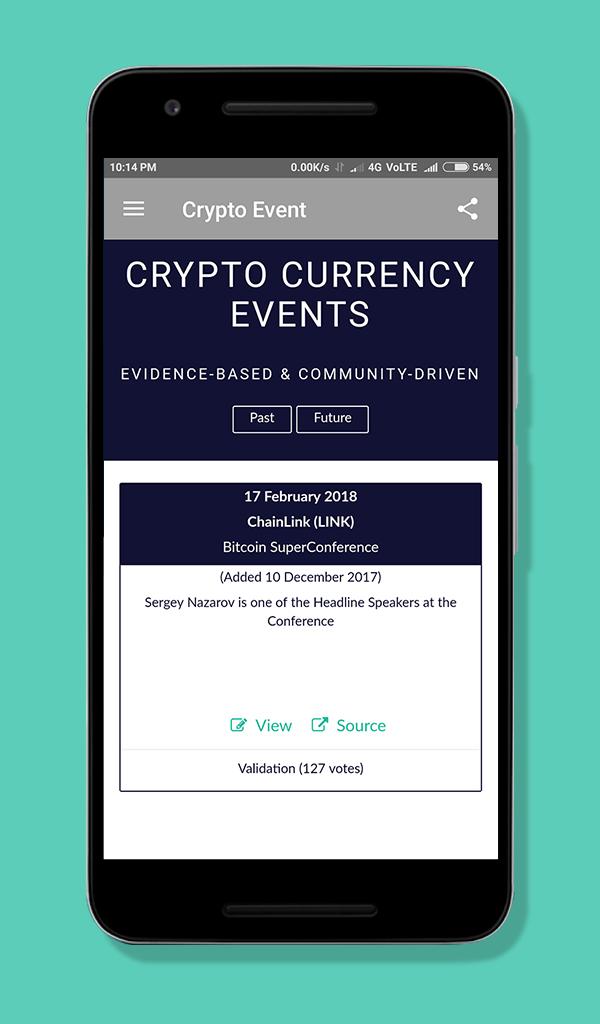 Crypto Event