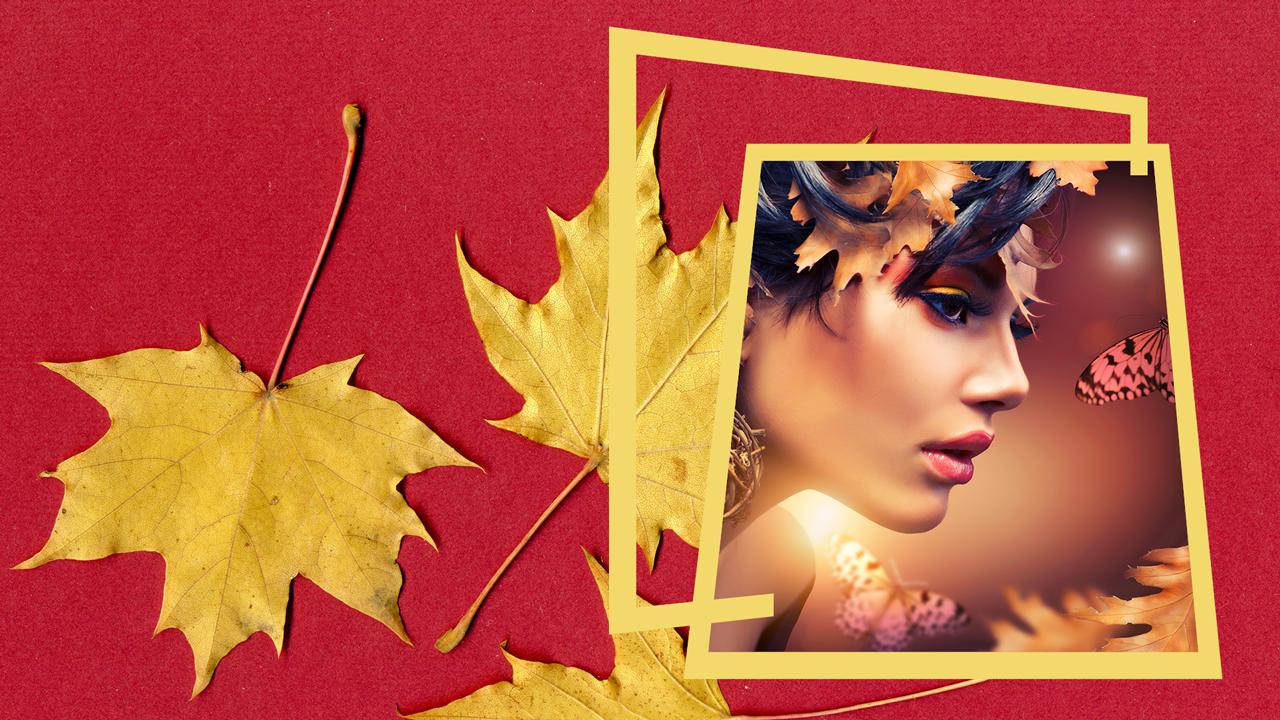 Golden Leaves Frames