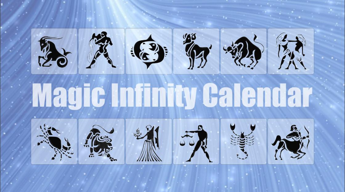 Magic Infinity Calendar