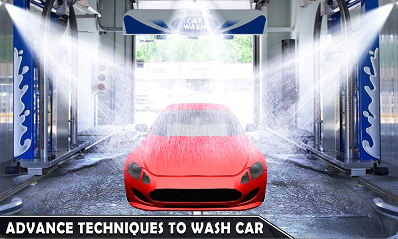 New Sports Car Wash Station Game