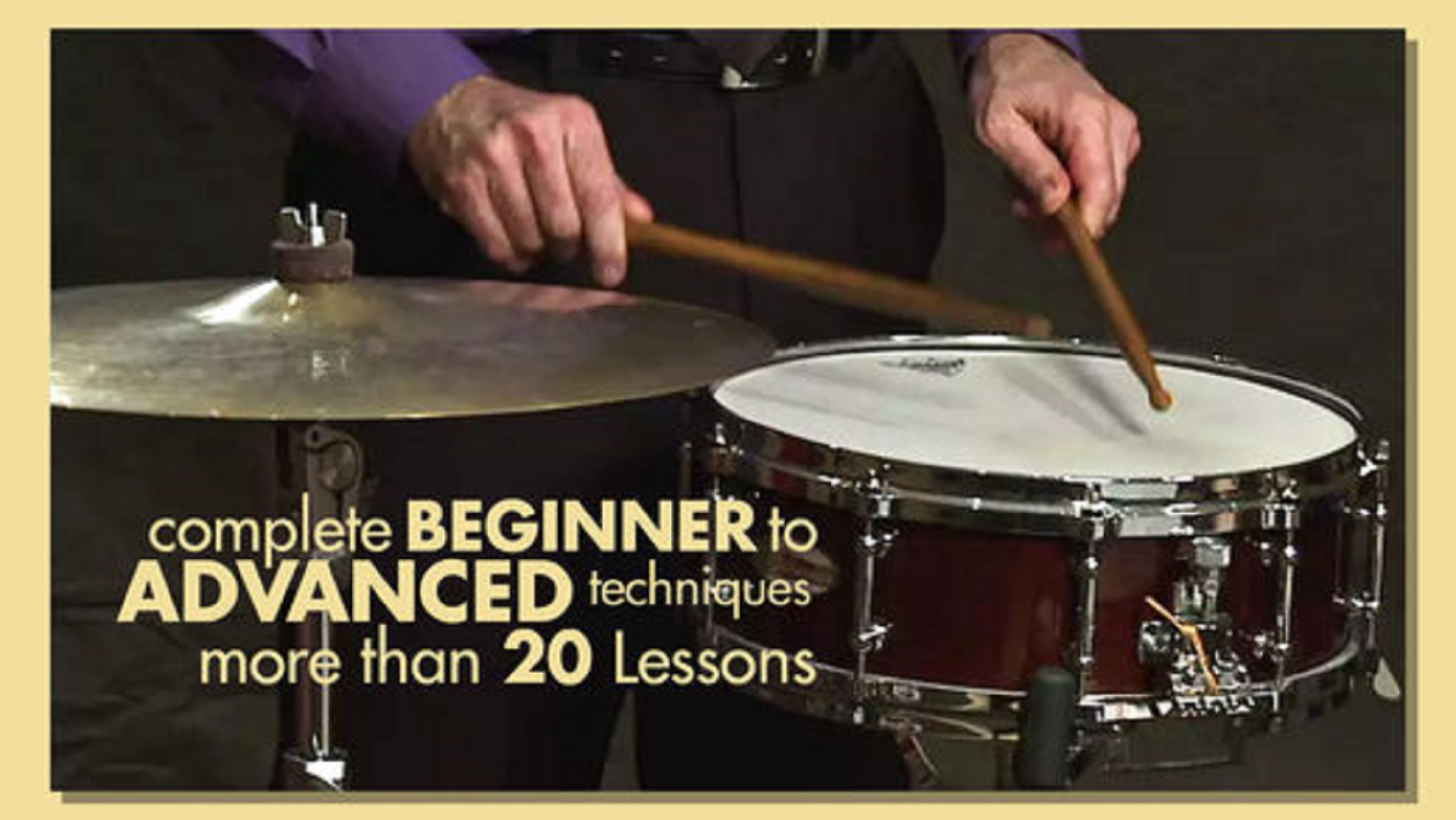 Percussion Lessons – Learn How to Play