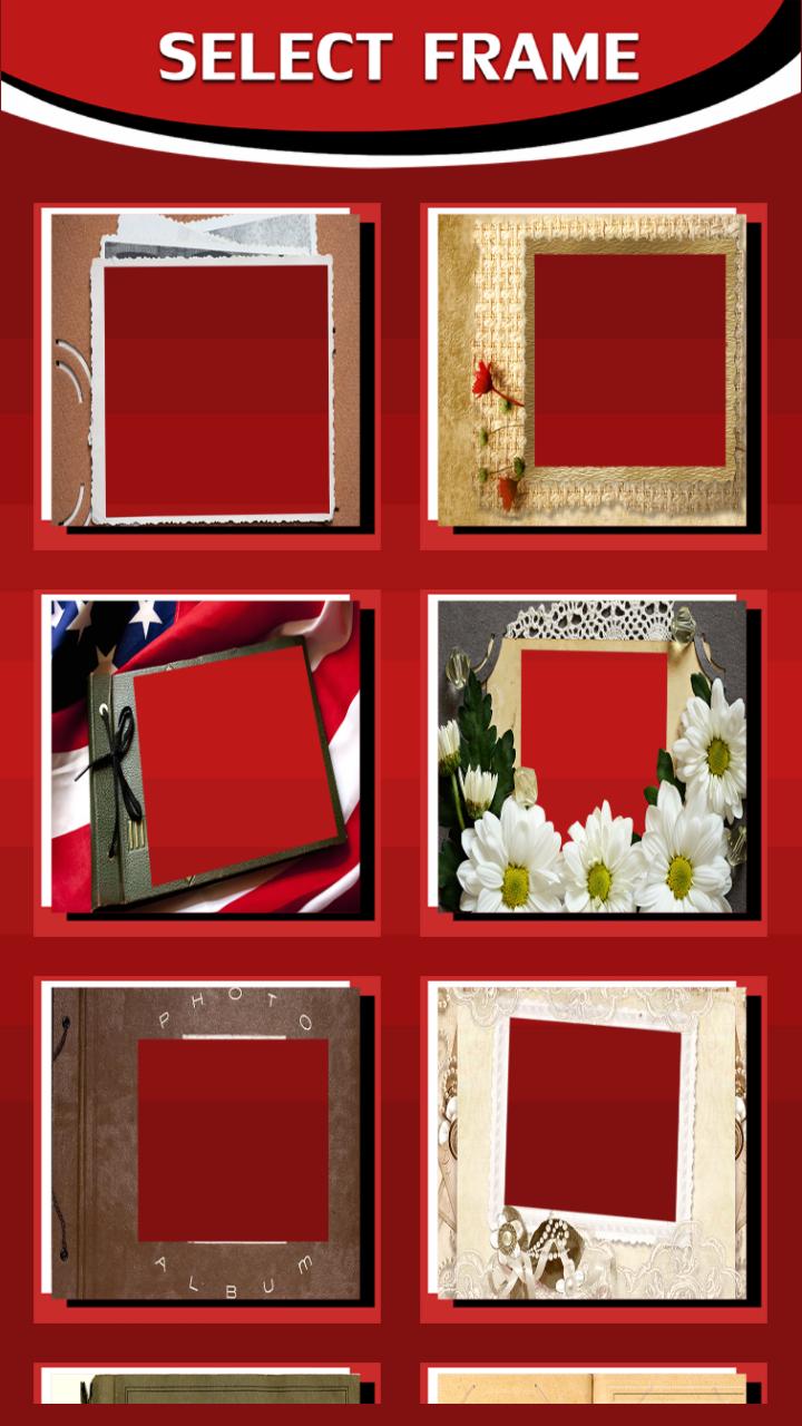 Photo Album Frames