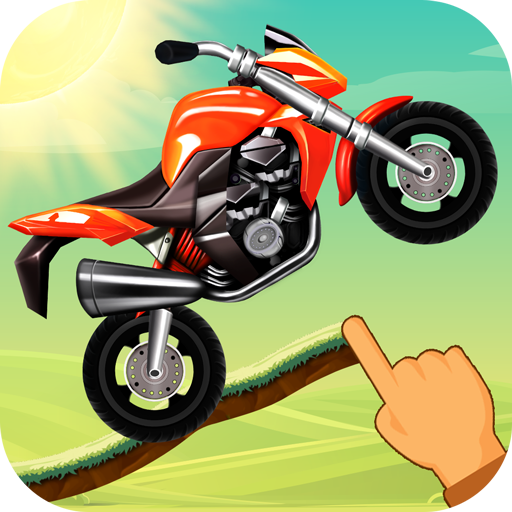 Road Draw: Hill Climb Moto Racing