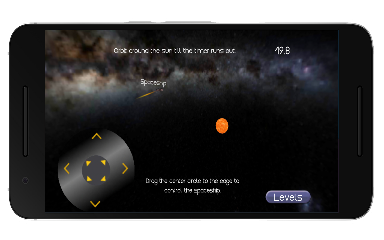 Space Orbit-Gravity game