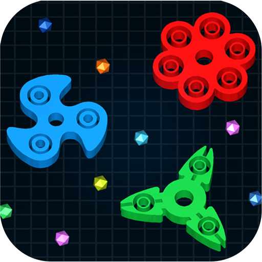 Spinning.io 3D : Fidget Spinner Top Wars