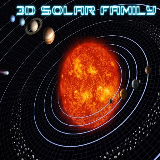 3D Solar Family