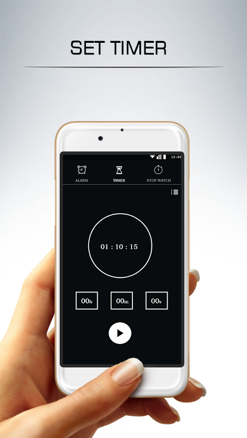 Alarm Clock : Set Alarm