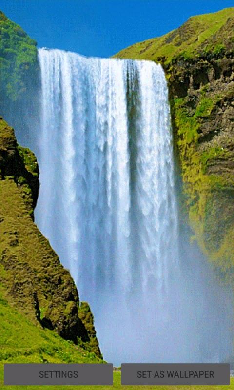 Amazing Nature Waterfall LWP