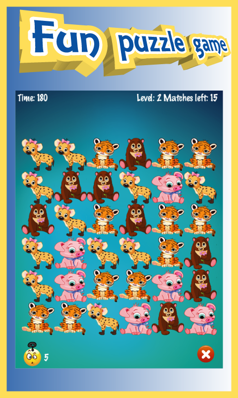 Animals Boom - Free Match 3 Puzzle Game