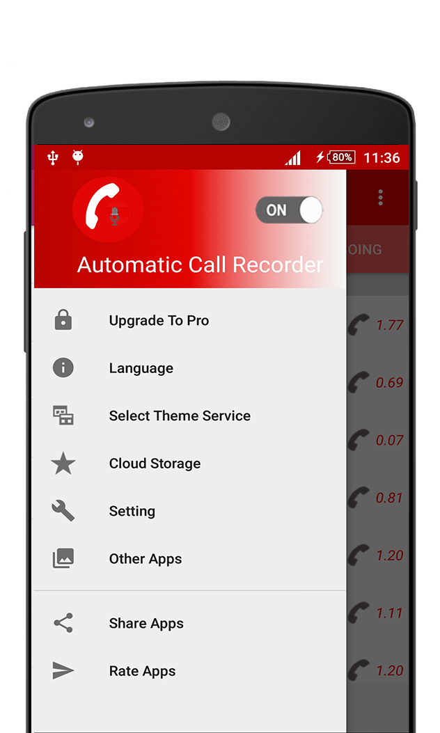 Automatic Call Recoreder -ACR
