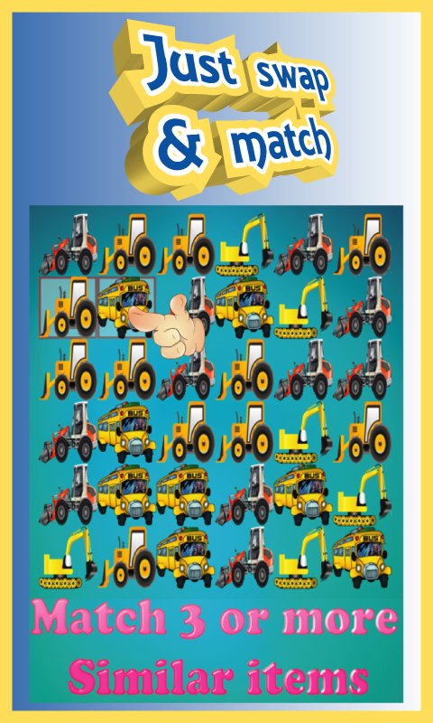 Car Boom - Free Match 3 Puzzle Game
