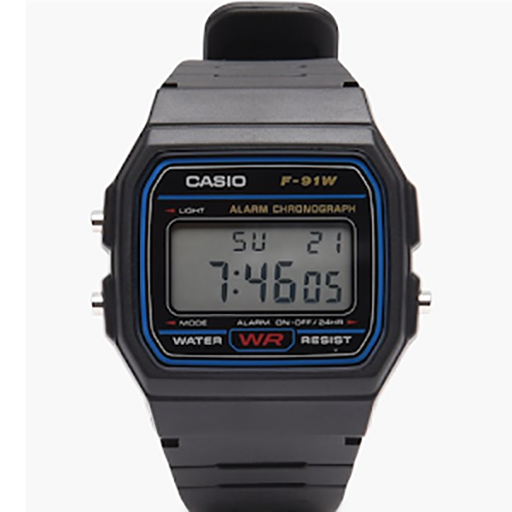 Casio F-91W Watch Widget