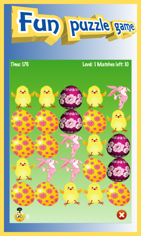 Easter Boom - Free Match 3 Puzzle Game