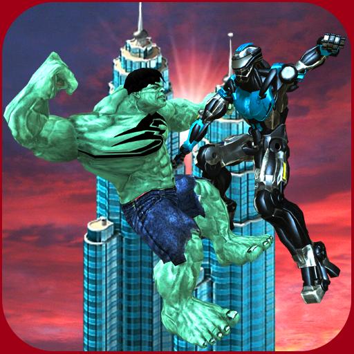Futuristic Robots vs City Monster Battle