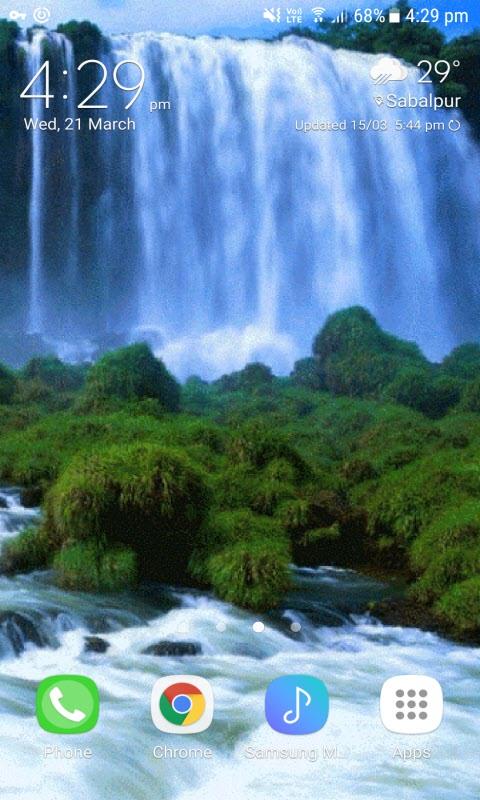 Green Grass Waterfall LWP