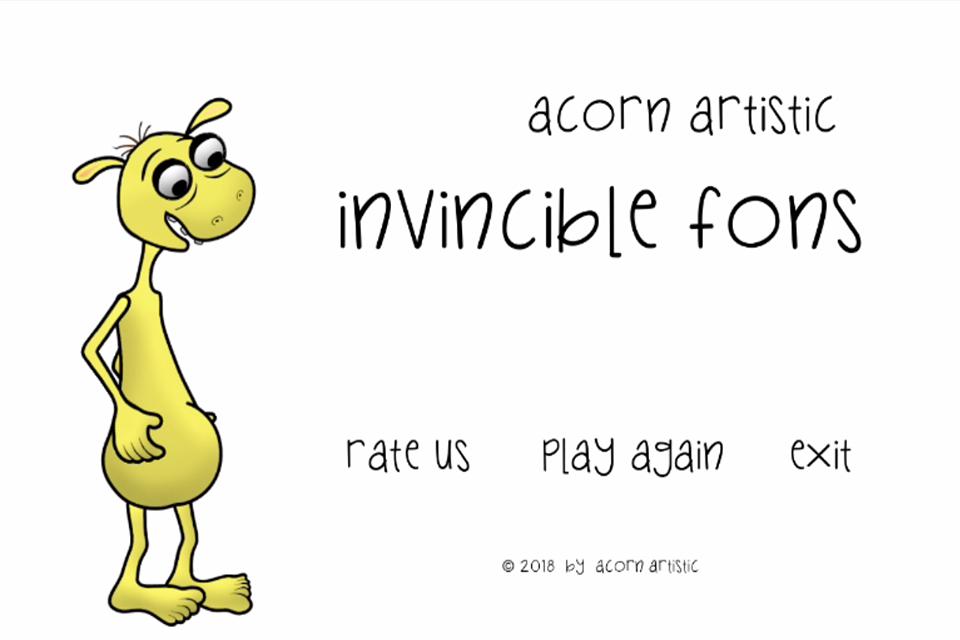 Invincible Fons - a short platform game
