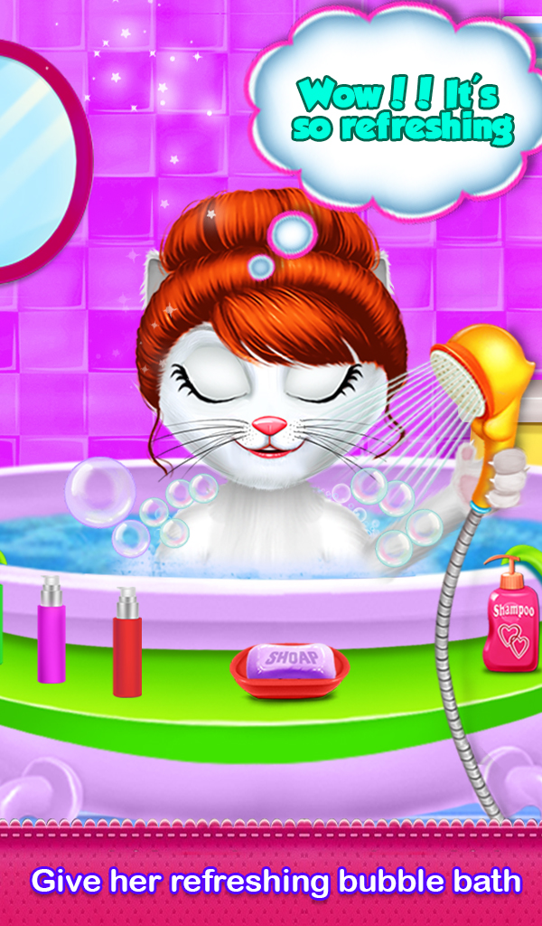 Kitty Daily Activities Game