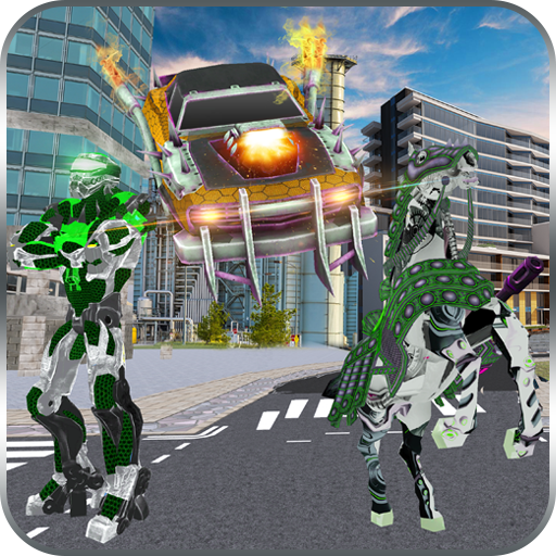 Robot Horse Robotic Car Transform Game