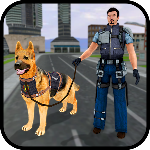 Robotic Police Dog: K9 Dog Chase Simulator
