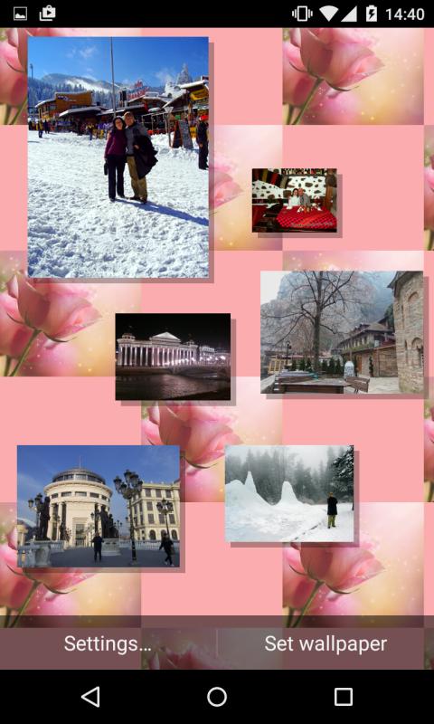 Romantic Photo Gallery Live Wallpaper
