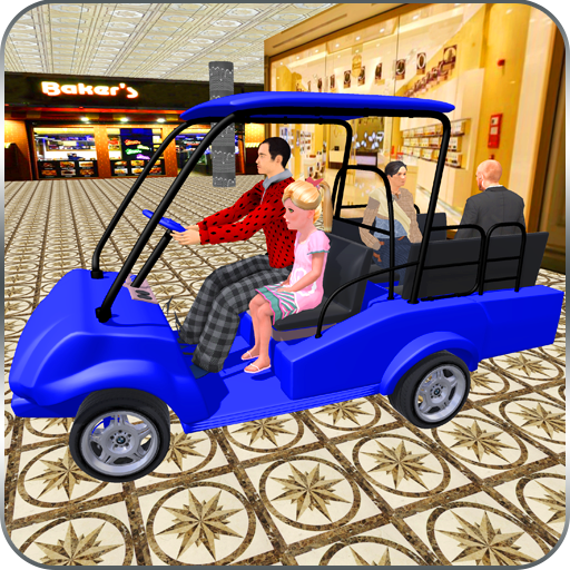 Shopping Mall Taxi Driver Cart Simulator