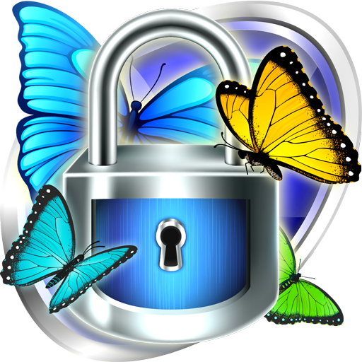 Smart App Lock Butterfly Theme