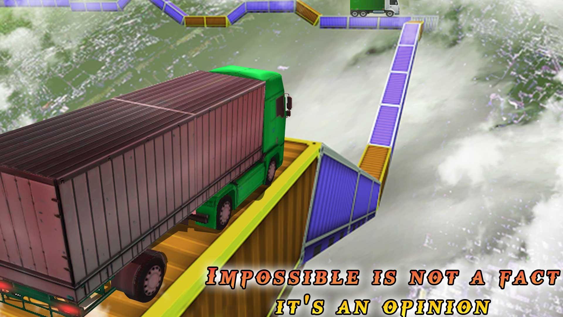 Snow Truck Rider: Impossible Safari Life