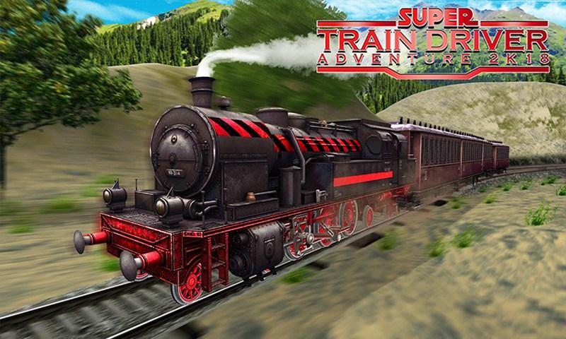 Super Train Driver Adventure 2k18