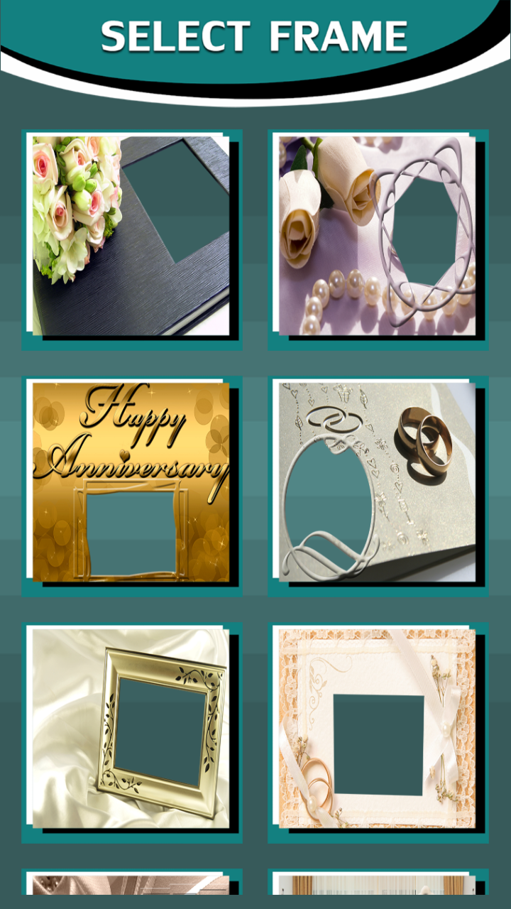 Wedding Anniversary Frames