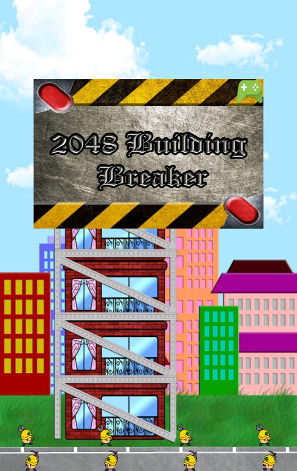 2048 Building Breaker