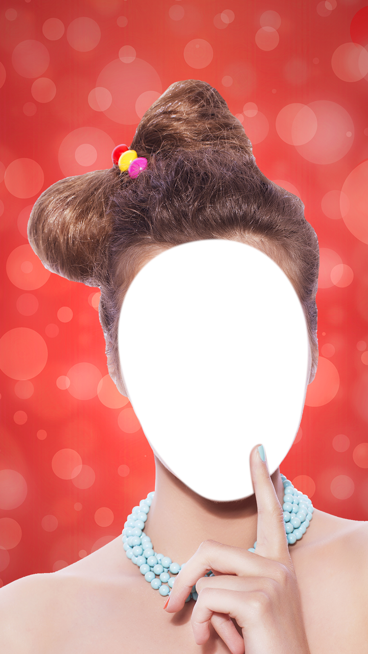 Bun Hairstyle Photo Editor