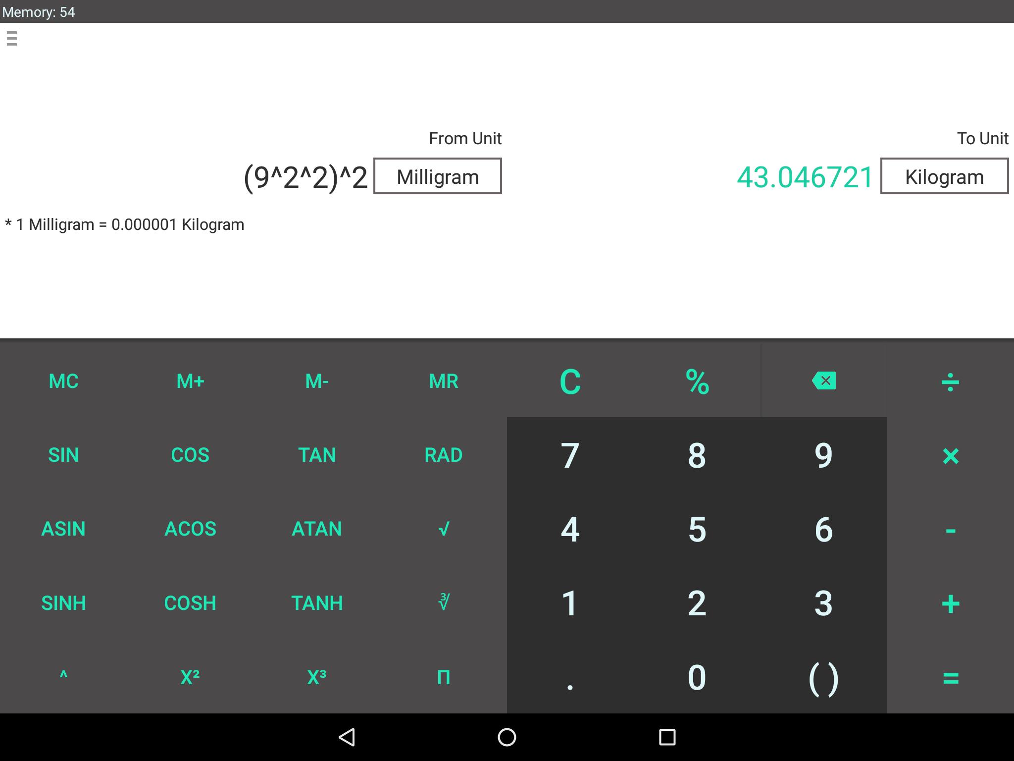 CalQwik Calculator