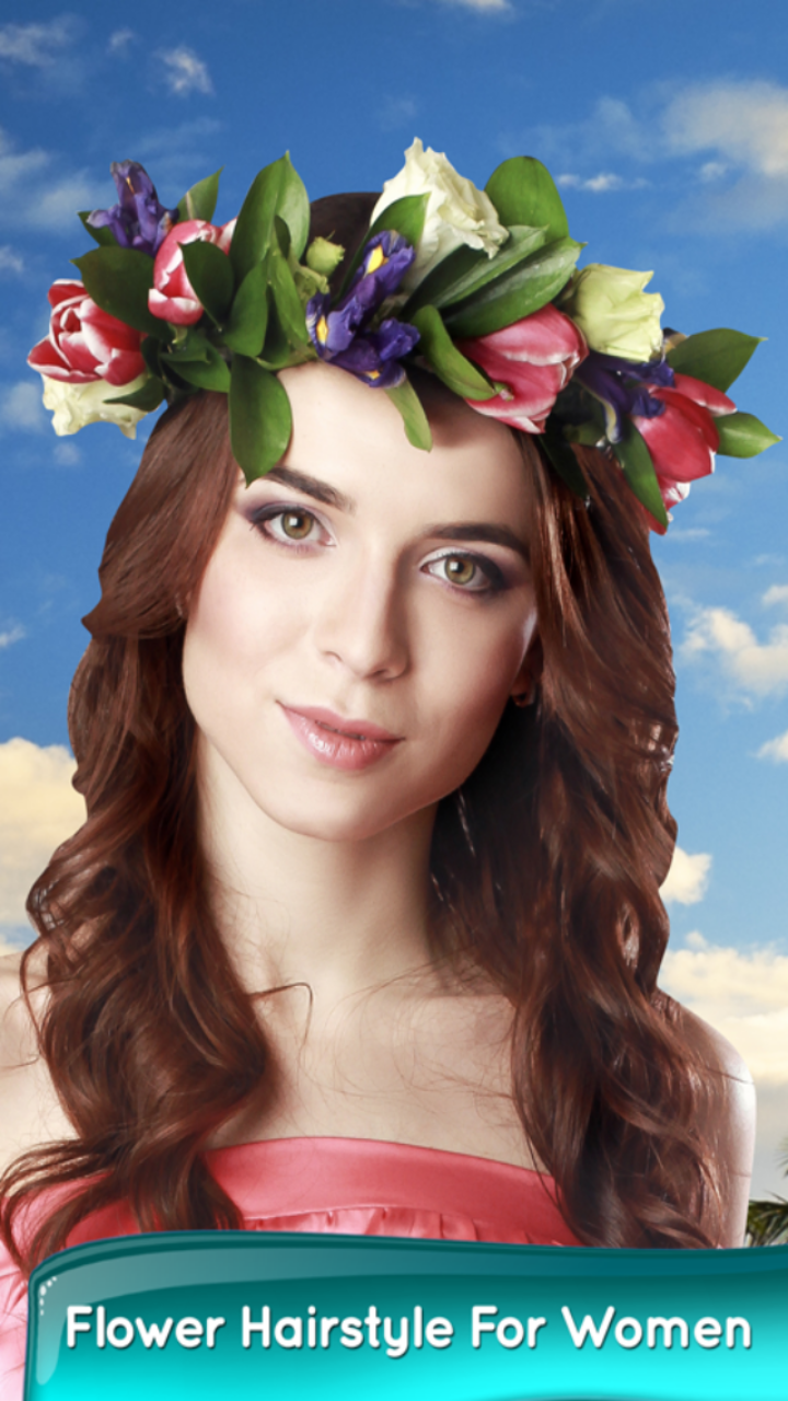 Flower Hairstyle For Women