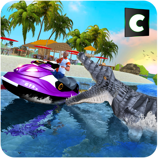 Hungry Crocodile Water Attack Game