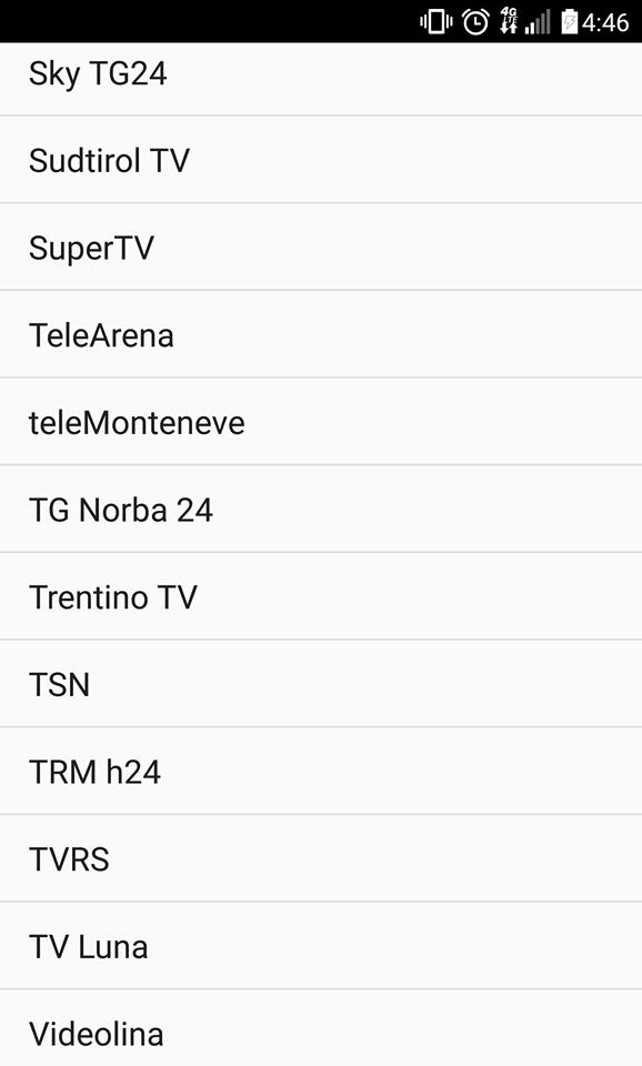 Italian TV Channel
