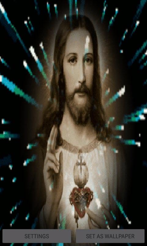 Jesus Christ Live Wallpaper