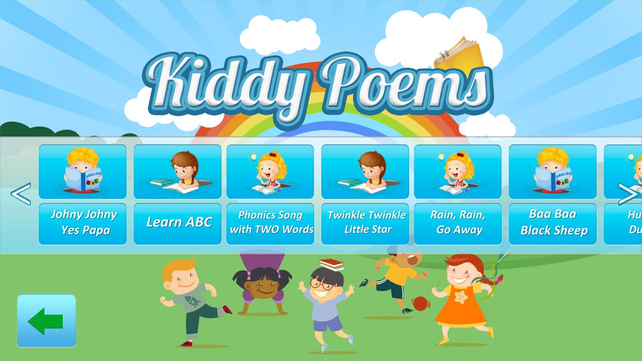 Kids Poems English & Urdu Poems