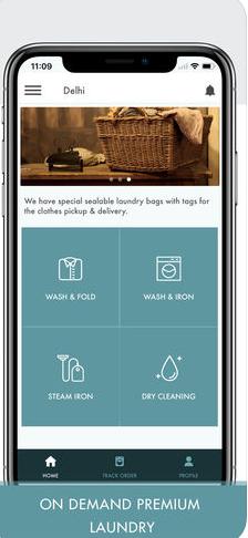 Launderette - Premium Laundry & Dry Cleaning App
