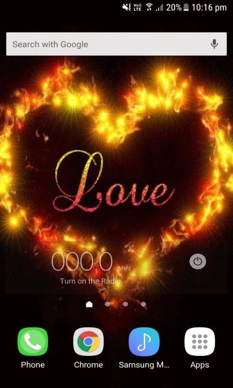 Lovely Love Heart LWP