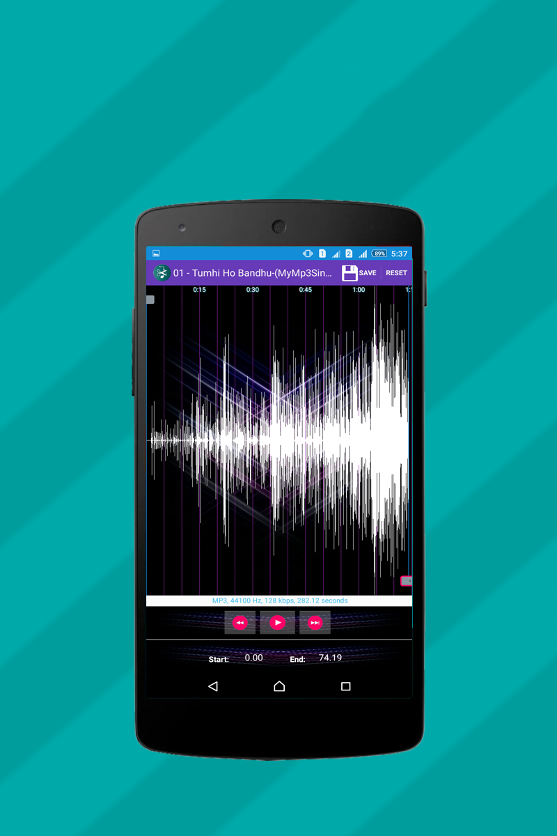 MP3 Cutter for Ringtone Maker