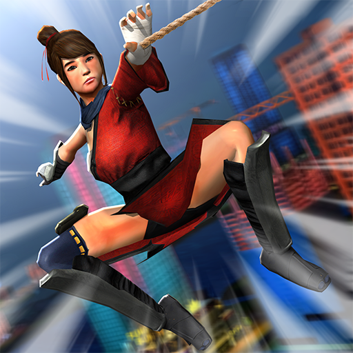 Ninja Girl Superhero Game