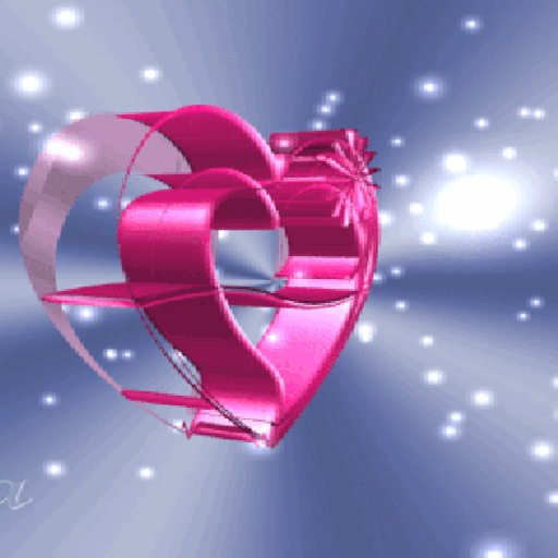 Pink Heart Spin LWP