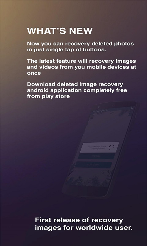 Recover Deleted Images Restore deleted Photos