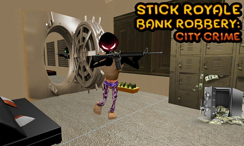 Stick Royale Bank Robbery: City Crime