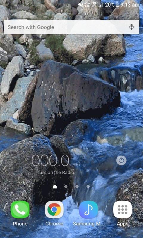 Stony River Live Wallpaper
