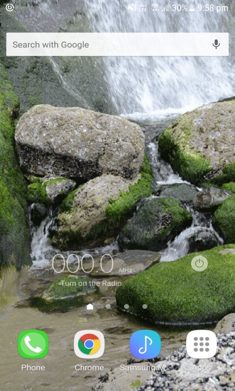 Stony Water Live Wallpaper