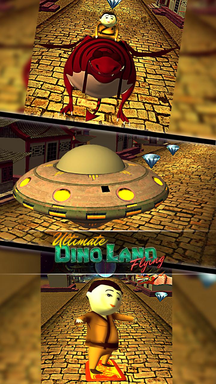 Ultimate Dino Land Flying Adventure