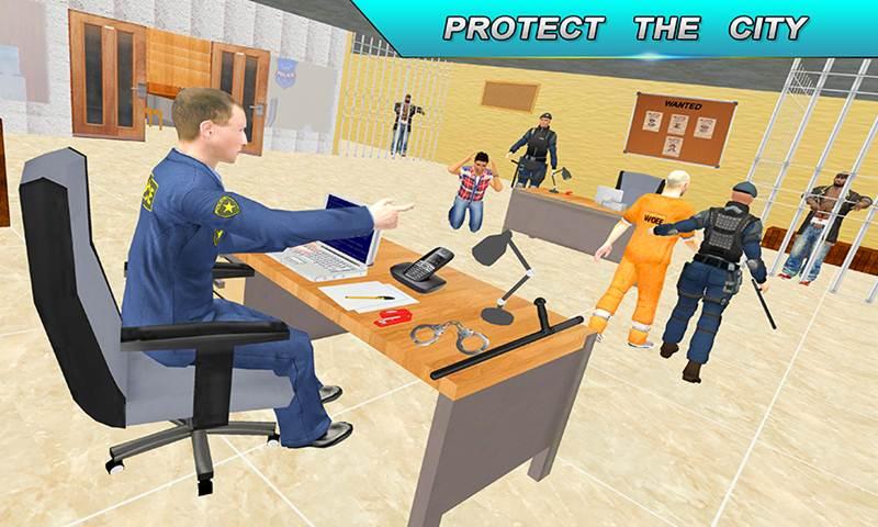 Virtual Single Police Dad: Happy Family