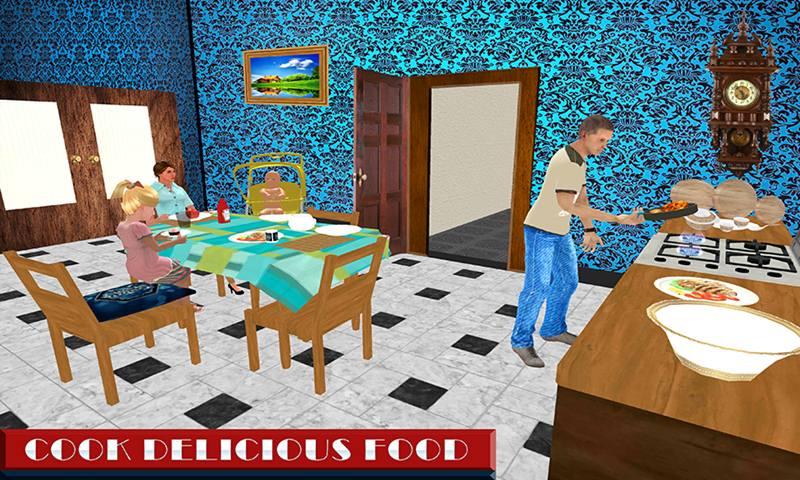 Virtual Step Father Family Simulator