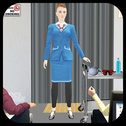 Airport Staff: Air Hostess Simulator